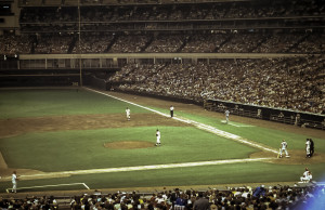 Astrodome 1969 Baseball Game