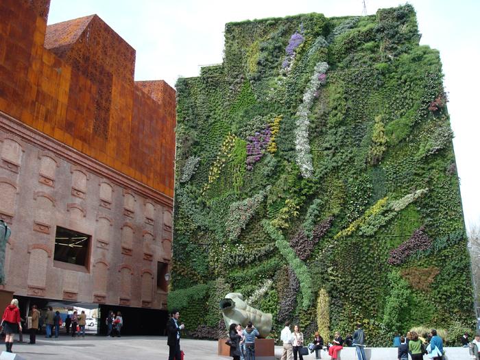 La moda de los jardines verticales compara pymes for Caracteristicas de los jardines verticales