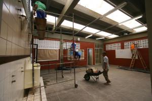 Reformas das escolas estaduais Na foto: Escola Estadual Sátiro Dias Autora: Carol Garcia / AGECOM